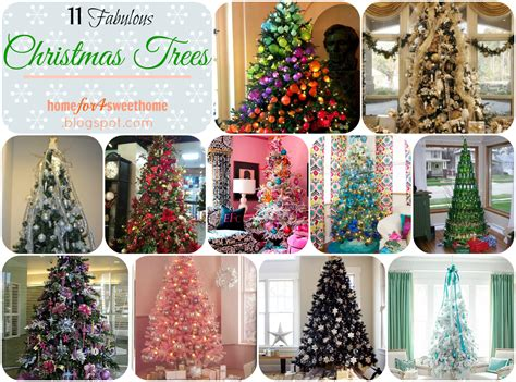 11 Fabulous Decorated Christmas Trees