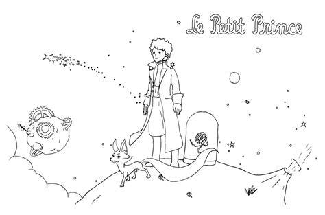 The Little Prince Coloring Pages - Eskayalitim