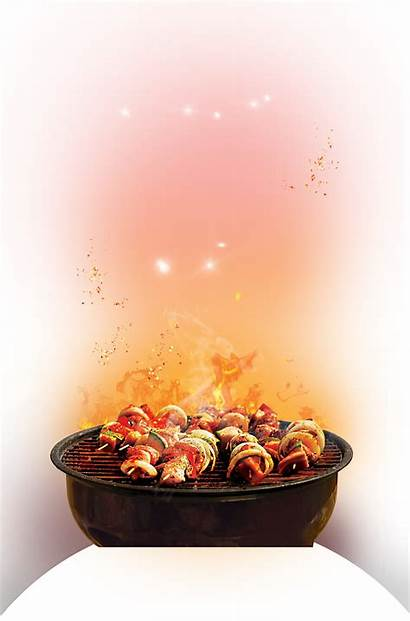 Grill Barbecue Cook Background Transparent Fire Clipart