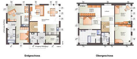 Zweifamilienhaus 2 Eingängen by Fertighaus Generationenhaus Mit Einliegerwohnung Nebst