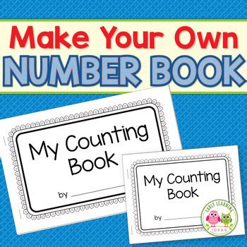 counting books 1 10 make your own number book for 226 | original 1803503 1