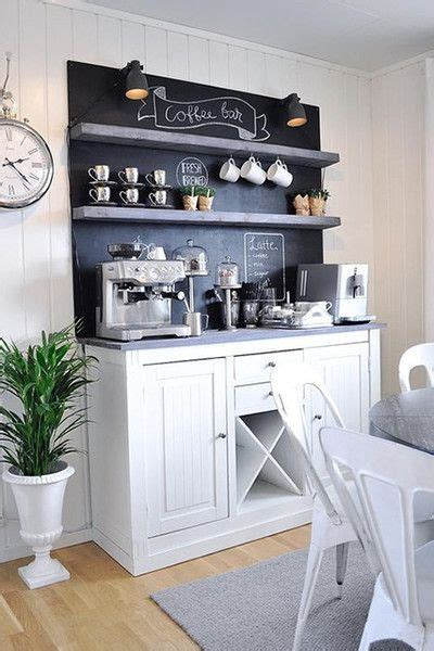 Enjoy breakfast or lunch served all day. 9 Genius Coffee Bar Ideas For The Kitchen | Rebekah Hutchins