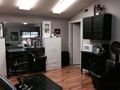 Modern nail spa, fast friendly service. Home salon... | Home hair salons, Home, Home salon