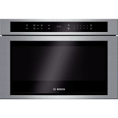 bosch microwave drawer hmd8451uc bosch 800 series 24 quot built in microwave drawer