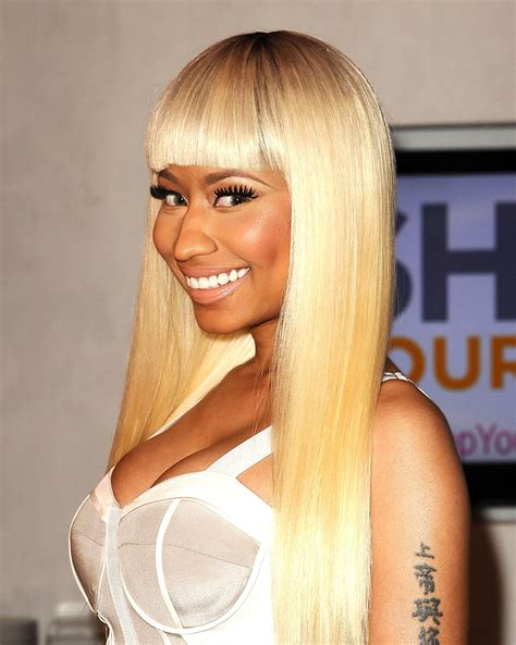 hairstyle file nicki minajs hairstyle evolution essence