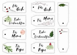 Geschenkanhänger Weihnachten Drucken : geschenke kreativ verpacken geschenkanh nger zum ausdrucken hochseiltraum ~ Eleganceandgraceweddings.com Haus und Dekorationen