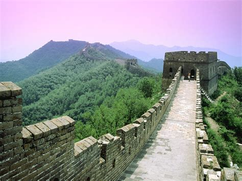 Great Wall of China, China, Mountain, Forest Wallpapers HD ...