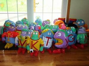 the letter people inflatable 1996 all 26 a to z huggables With blow up letters