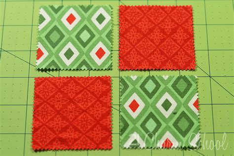 4 patch quilt patterns tutorial how to make a four patch quilt block