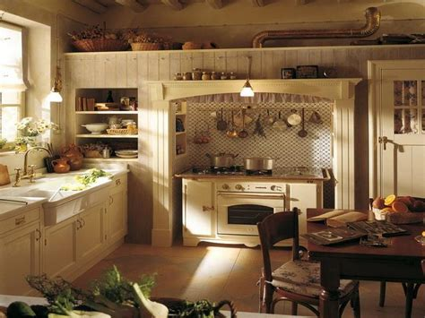 Miscellaneous  Old Country Kitchen Design Interior
