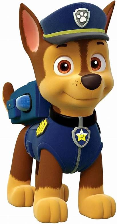 Paw Patrol Characters Cartoon Chase Rocky