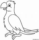Parrot Coloring Pages Macaw Printable Drawing Outline Bird Cool2bkids Parrots Sheet Birds Easy Sheets Getdrawings Drawings Fish Tags Cartoon Printables sketch template