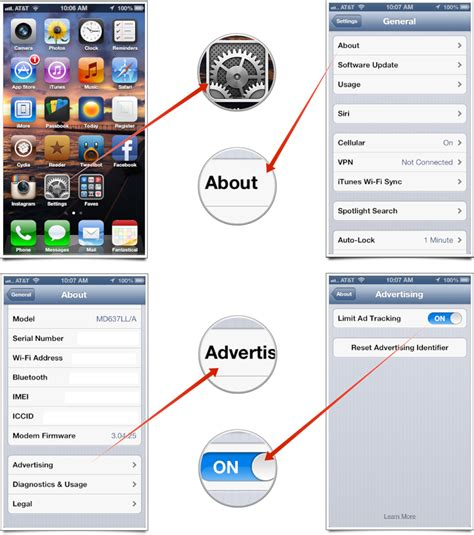 how to stop someone from tracking your iphone how to limit targeted ad tracking on iphone and imore