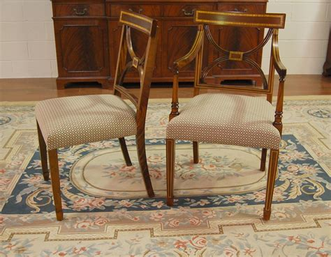 mahogany dining chairs cross  dining room chair ebay