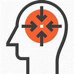 Icon Mind Thinking Target Human Head Business
