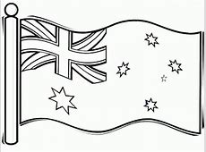 Australian Flag Coloring Page For Kids Flags Coloring