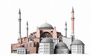 3D Hagia Sophia   CGTrader