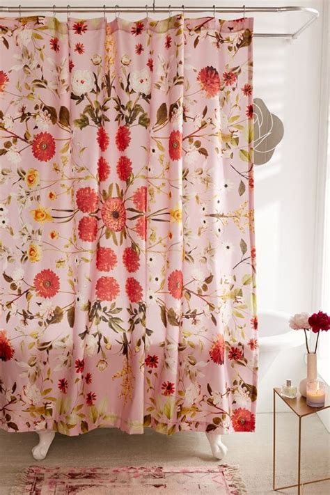 daniella floral shower curtain urban outfitters