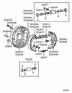 Rear Wheel Brake For 1986
