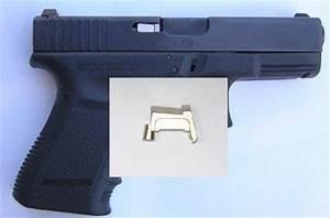 Chrome Extractor w LCI 40 and 357 for Glock - Cooomononoaeraa