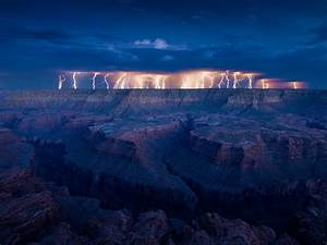 Interesting Photo Of The Day  Lightning Storm Over The