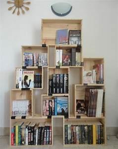 1001 idees et tutos pour fabriquer un meuble en cagette With creer un plan de maison 8 1001 idees pour fabriquer une etagare en cagette soi meme