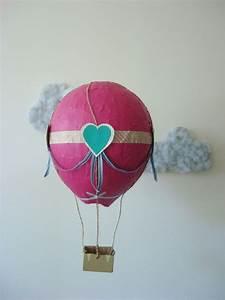 Pappmache Ideen Und Techniken Für Kreatives Gestalten : aus pappmache mini hei luftballon gestalten bastelideen pinterest ~ Yasmunasinghe.com Haus und Dekorationen