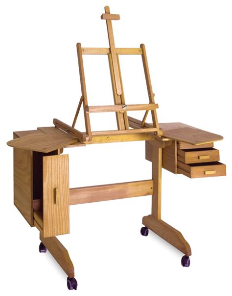 mabef painting workstation easel   blick art materials