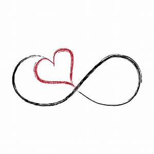 infinity color heart hearts love | 2nd Tattoo Ideas ...