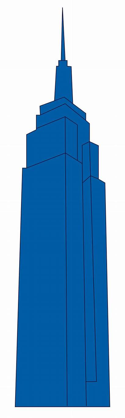 Building Empire State Svg Landmarks Icons Wikimedia