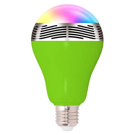bluetooth light bulb home bluetooth audio speaker led rgb color