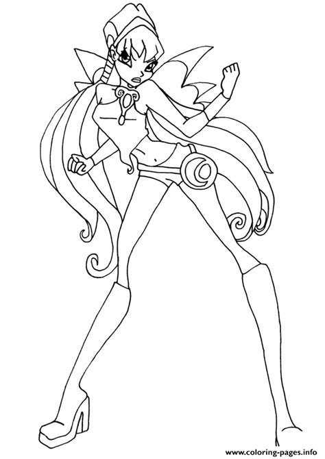 winx da colorare stella stella charmix pose winx club coloring pages printable