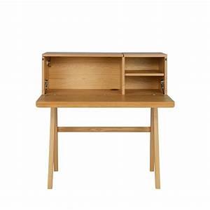 Bureau Secrtaire En Bois Open Up Drawer