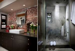 tile designs for bathroom walls 10 fabulous bathrooms with industrial style