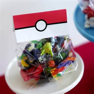 Pokemon Birthday Party Favors