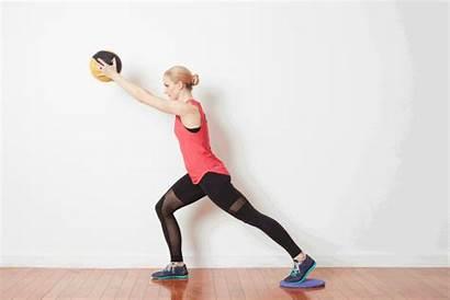 Ball Medicine Exercises Knee Training Strength Pulls