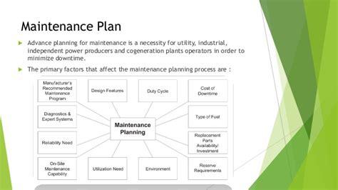 Maintenance Plan by Maintenance Plan