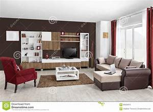 interieur d39un salon moderne en couleurs photo stock With couleur de salon moderne