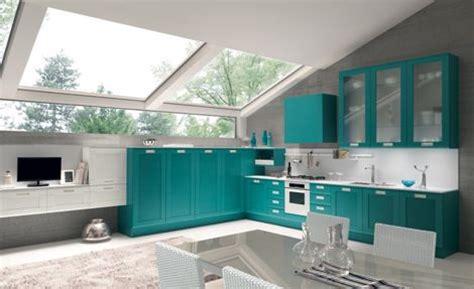 como decorar cocinas de colores vivos de forma correcta