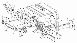 Ridgid Ts24240 10 U0026quot  Table Saw Parts And Accessories