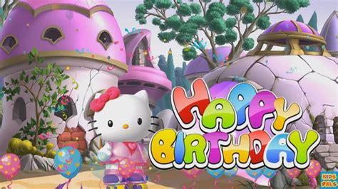 kitty happy birthday song  kids happy birthday