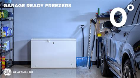 Will A Freezer Work In A Cold Garage by Ge 21 7 Cu Ft Chest Freezer In White Fcm22dlww The