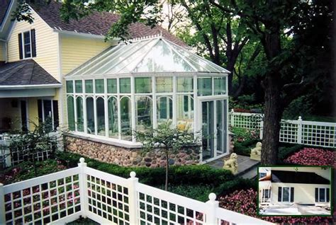 greenhouse attached house plans farmhouse ideas pinterest conservatory design  craftsman
