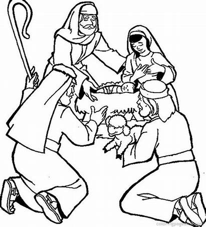 Bible Coloring Pages Printable Christmas Coloringme