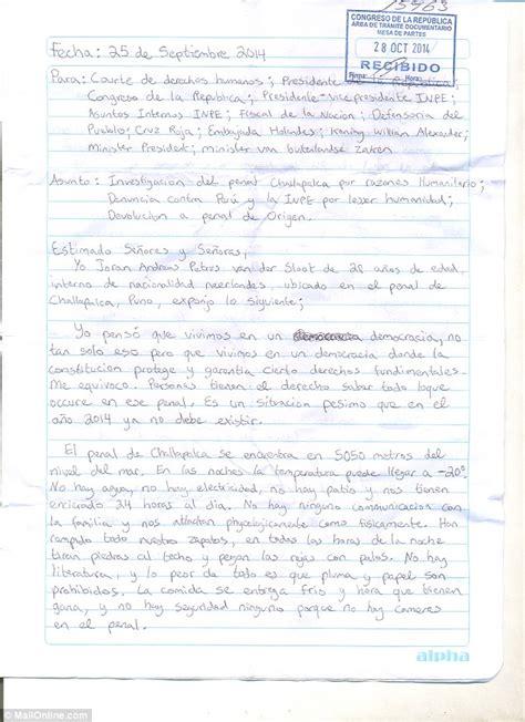 write  letter   uncle  prison