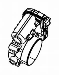 Jeep Wrangler Throttle Body   3 6l V6 Ffv 24v Vvt Engine