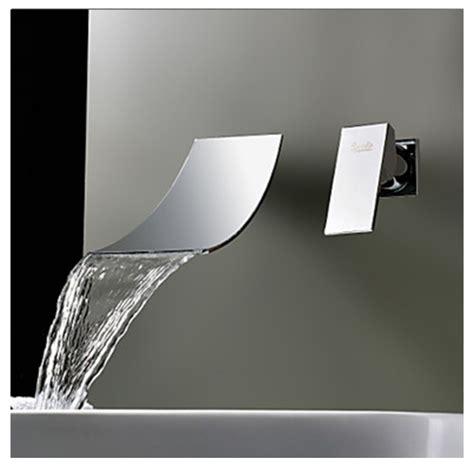 rubinetto a parete rubinetto miscelatore per lavabo effetto cascata rb1000
