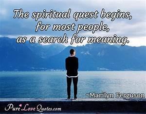 The spiritual q... Anonymous Religious Quotes
