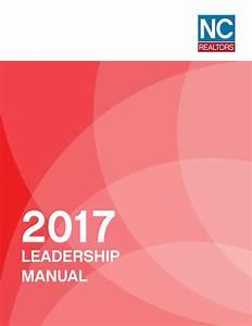 Nc Realtors U00ae 2017 Leadership Manual By Nc Realtors U00ae