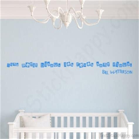 phrase chambre bébé décoration chambre de bébé stickers décalcomanie